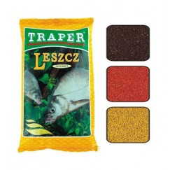 Прикормка TRAPER SEKRET 1 kг Leszcz (черный, красный, желтый)